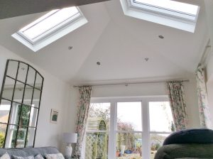 Capturing light through the Velux roof windows