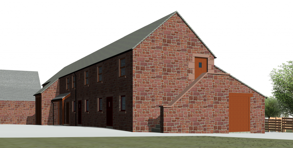 Cumbrian Barn Measured Survey on Revit LT - a bit of a challenge